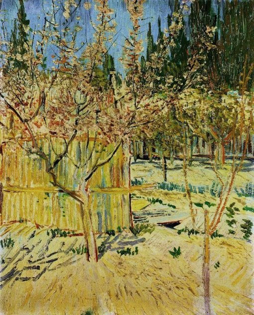 Apricot Trees in Blossom | Vincent van Gogh | Oil Painting