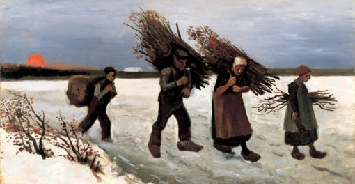 Wood Gatherers in the Snow | Vincent van Gogh | Oil Painting