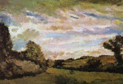 Dunes-landscape at The Hague   Vincent van Gogh   Oil Painting