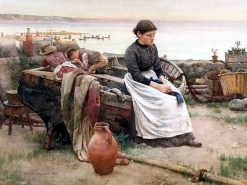 But O for the Touch of a Vanished Hand | Walter Langley