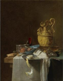 Still Life with Silver Gilt Jug