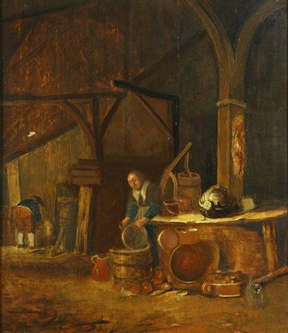 Figure Getting Water | Willem Kalf | Oil Painting