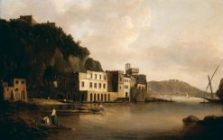 View of the Bay of Naples from Posillipo | William Marlow | Oil Painting