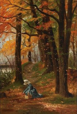 The Berry Picker | William Raphael | Oil Painting