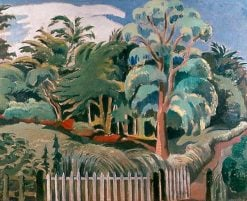 The Edge of the Wood | Paul Nash | Oil Painting