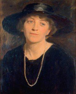 Hazel MacNaghten (1885-1956)   Reginald Grenville Eves   Oil Painting