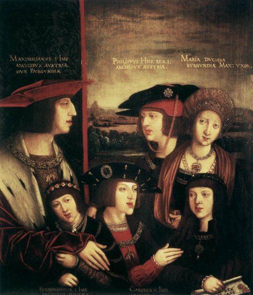 The Family of Maximilian I | Bernhard Strigel | Oil Painting