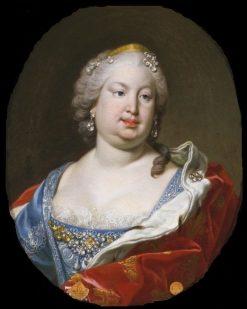 Barbara de Braganza (1711-1758) Wife of Fernando VI of Spain | Louis Michel Van Loo | Oil Painting