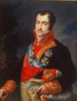 Portrait of King Fernando VII de España (1784-1833) | Vicente Lopez y Portaña | Oil Painting