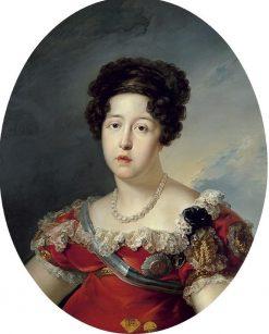 Portrait of Maria Isabel de Braganza (1797-1818) | Vicente Lopez y Portaña | Oil Painting