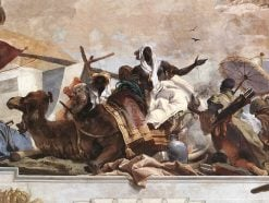 Allegory of the African Continent (Apollo and the Continents) | Giovanni Battista Tiepolo | Oil Painting