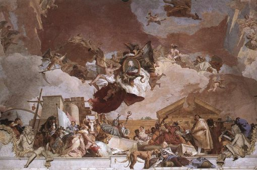 Allegory of the European Continent (Apollo and the Continents) | Giovanni Battista Tiepolo | Oil Painting