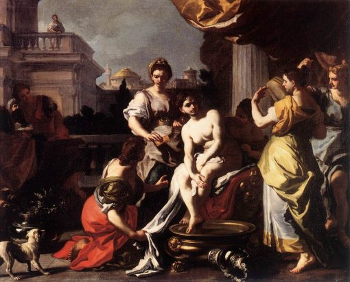 Bathsheba Bathing | Francesco Solimena | Oil Painting