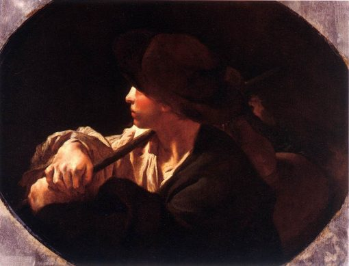 Shepherd Boy   Giovanni Battista Piazzetta   Oil Painting