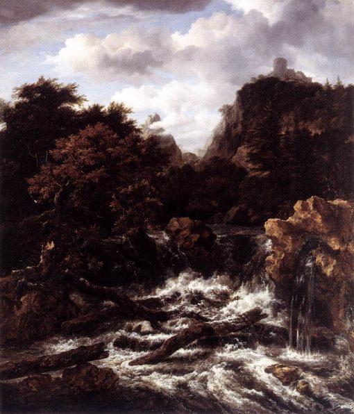 Norwegian Landscape | Jacob van Ruisdael | Oil Painting
