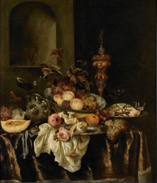 Still Life   Abraham van Beyeren   Oil Painting