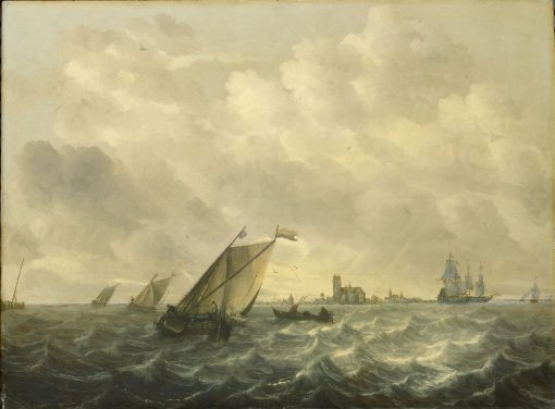 River View | Abraham van Beyeren | Oil Painting