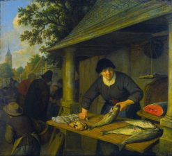 The Fishmonger | Adriaen van Ostade | Oil Painting