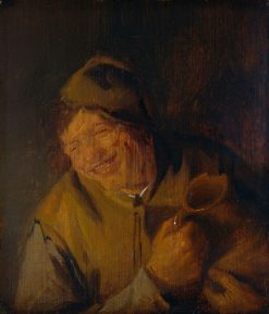 The Merry Drinker | Adriaen van Ostade | Oil Painting