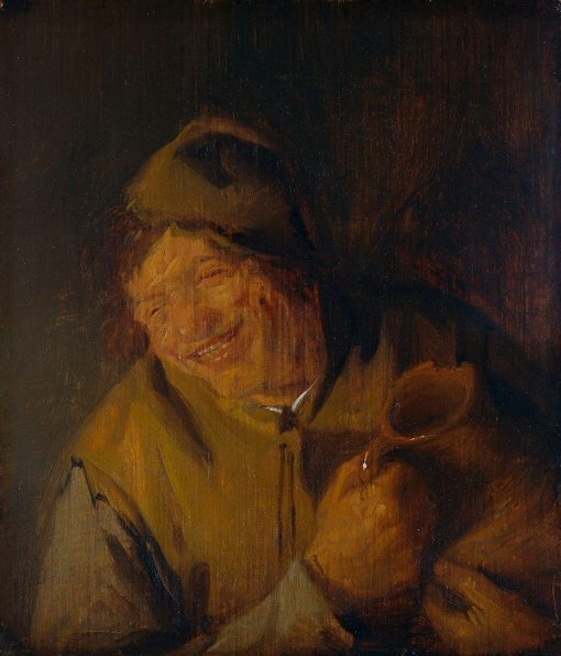The Merry Drinker   Adriaen van Ostade   Oil Painting