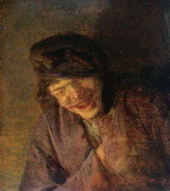 Peasant Laughing | Adriaen van Ostade | Oil Painting
