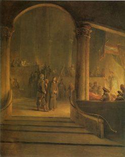 Christ Before Caiaphas | Aert de Gelder | Oil Painting