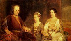 The Boerhave Family | Aert de Gelder | Oil Painting