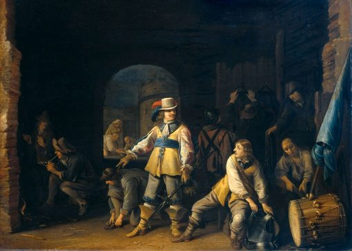 Nightwatch with Soldiers | Anthonie Palamedesz | Oil Painting