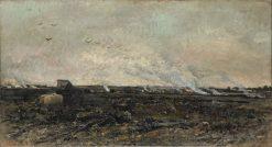 October | Charles Francois Daubigny | Oil Painting
