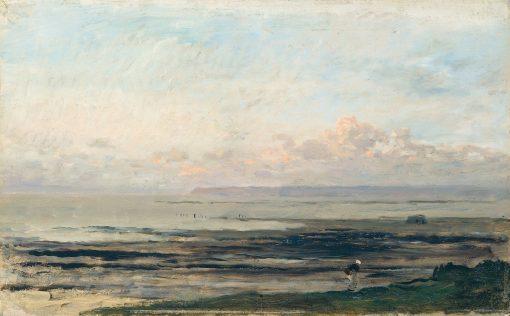 Seashore   Charles Francois Daubigny   Oil Painting