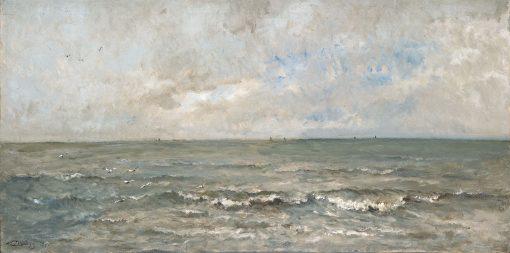 Seascape   Charles Francois Daubigny   Oil Painting