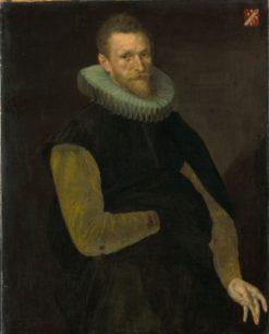 General Jacob Cornelisz Banjaert (1564-1638). Admiral and Burgerma   Cornelis Ketel   Oil Painting
