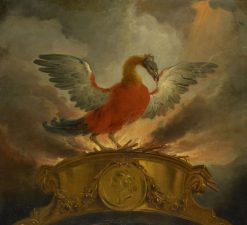 A Phoenix | Cornelis Troost | Oil Painting