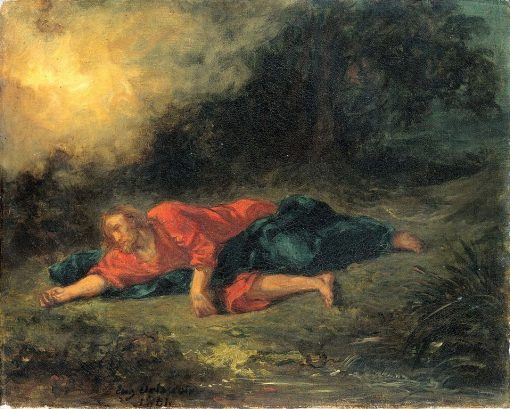 The Agony in the Garden | Eugene Delacroix | Oil Painting