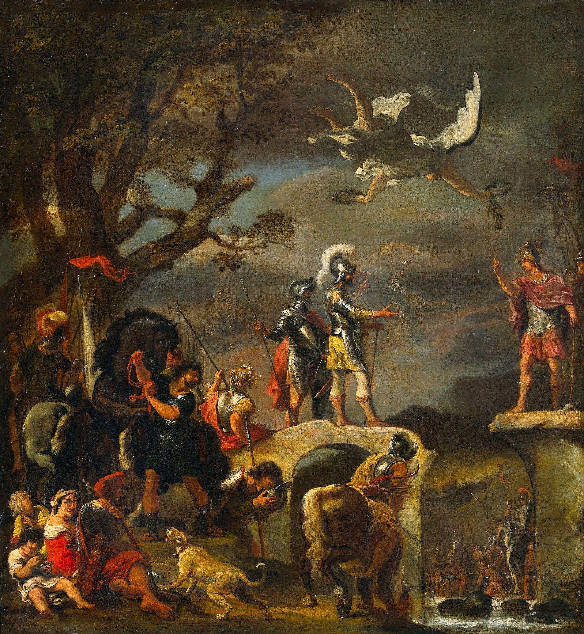 An Allegory (Claudius Civilis and Quintus Petillius Cerealis) | Ferdinand Bol | Oil Painting