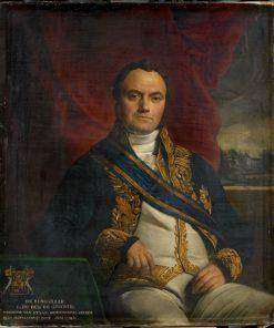 Léonard Pierre Joseph Burgrave du Bus de Guisignies | Francois Joseph Navez | Oil Painting