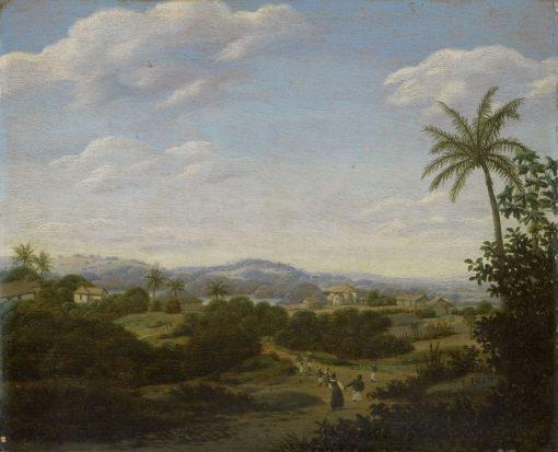 Brazilian Landscape   Frans Post   Oil Painting
