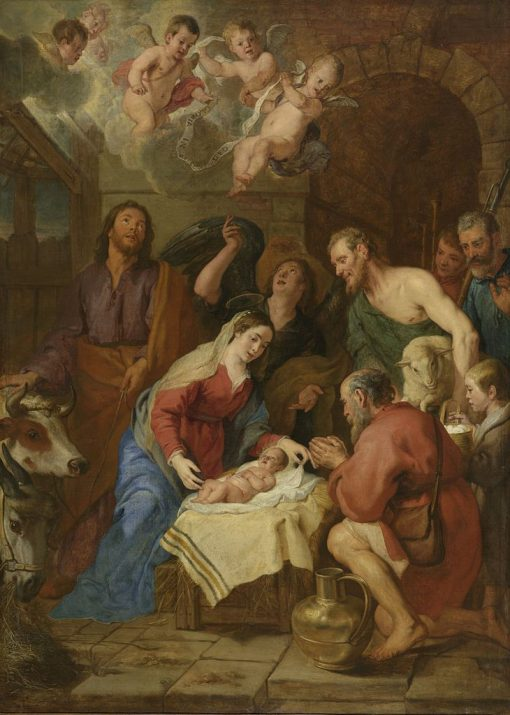 The Adoration of the Shepherds | Gaspard de Crayer | Oil Painting