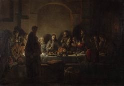 The Last Supper | Gerbrand van den Eeckhout | Oil Painting