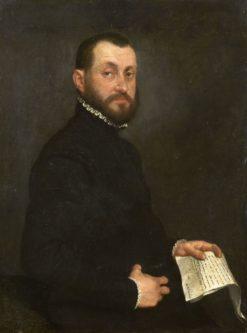 Portrait of a Man   Giovanni Battista Moroni   Oil Painting