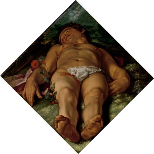 The Dead Adonis | Hendrick Goltzius | Oil Painting