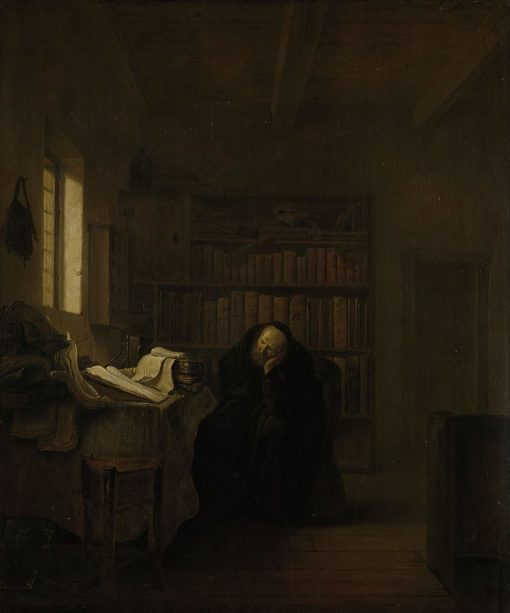 A Scholar in His Study | Hendrik Martensz. Sorgh | Oil Painting