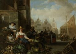 The Vegetable Market | Hendrik Martensz. Sorgh | Oil Painting