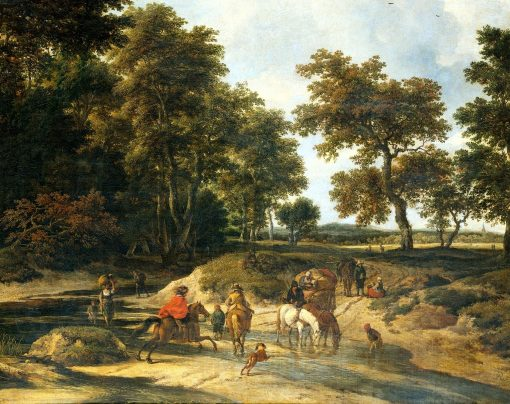 The Ford | Jacob van Ruisdael | Oil Painting