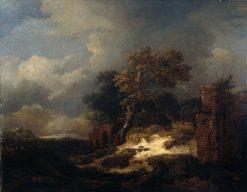 Landscape with Ruins | Jacob van Ruisdael | Oil Painting