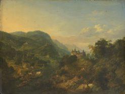 River View   Jan Griffier   Oil Painting
