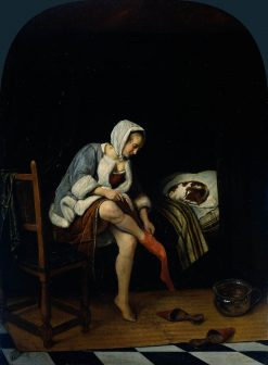 Woman at her Toilet | Jan Havicksz. Steen | Oil Painting