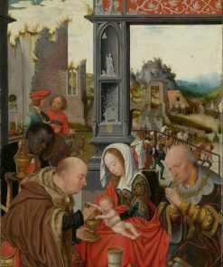 Adoration of the Magi | Jan Mostaert | Oil Painting