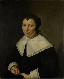 Portrait of a Woman | Jan van Bijlert | Oil Painting