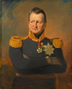 David Hendrik Baron Chassé (1765-1849). Luitenant-generaal | Jan Willem Pieneman | Oil Painting